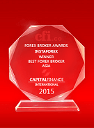 Capital Finance International  - Best Broker in Asia 2015