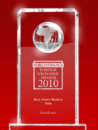 World Finance Awards 2010 – The Best Forex Broker in Asia